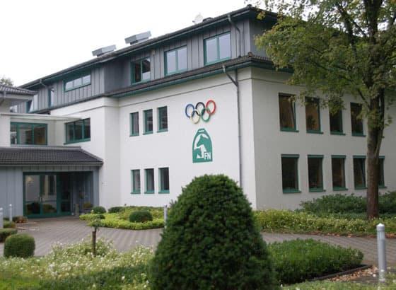 Deutsche reiterliche Vereinigung in Warendorf LG-Zaum Zulassung