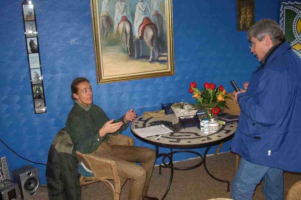 Faschsimpeln mit Cavallo Chef Hannes Scholten