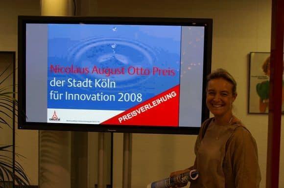 M. Lehmenkühler beim Innovationspreis zu Köln