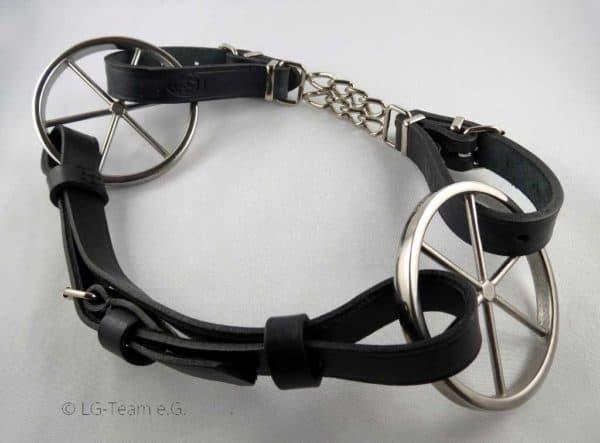 LG-Zaum Kinnkette schwarz
