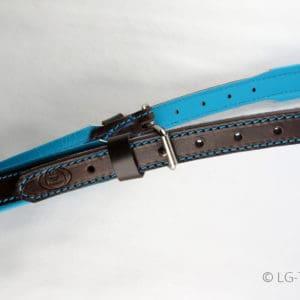 LG-Kopfstück Kollektion türkis-braun