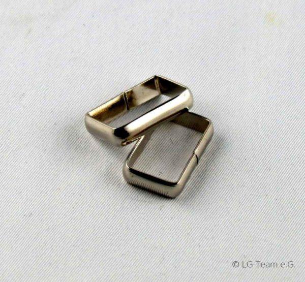 Metallösen silber LG-Zaum