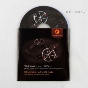Mini DVD Verschnallung LG Zaum