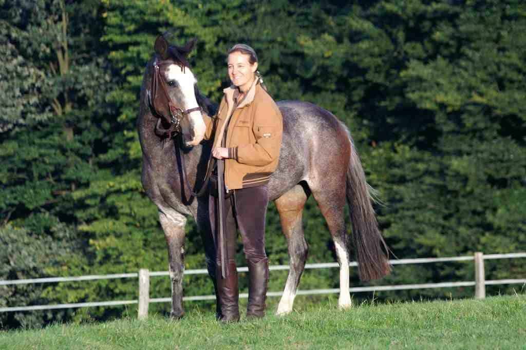Mit Pferd spatzieren mit Glücksrad