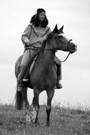 Mustang Stute Anno Dazumal