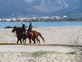 Spanien am Strand