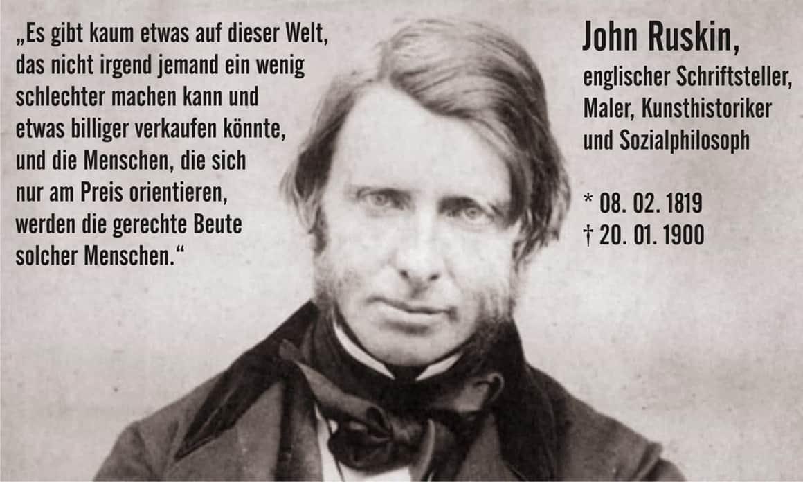 Zitat John Ruskin